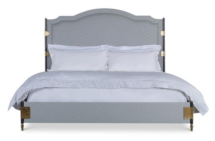 C79-137 - Gemma Upholstered Bed - Cal King Size 60床